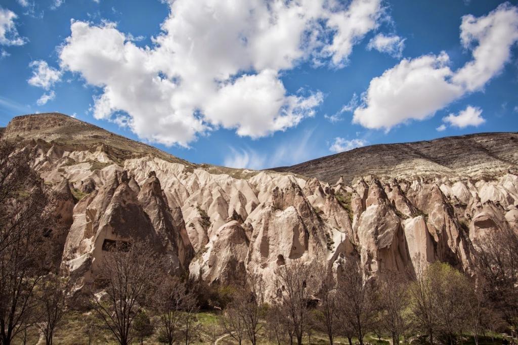 уникальные пещеры Турции