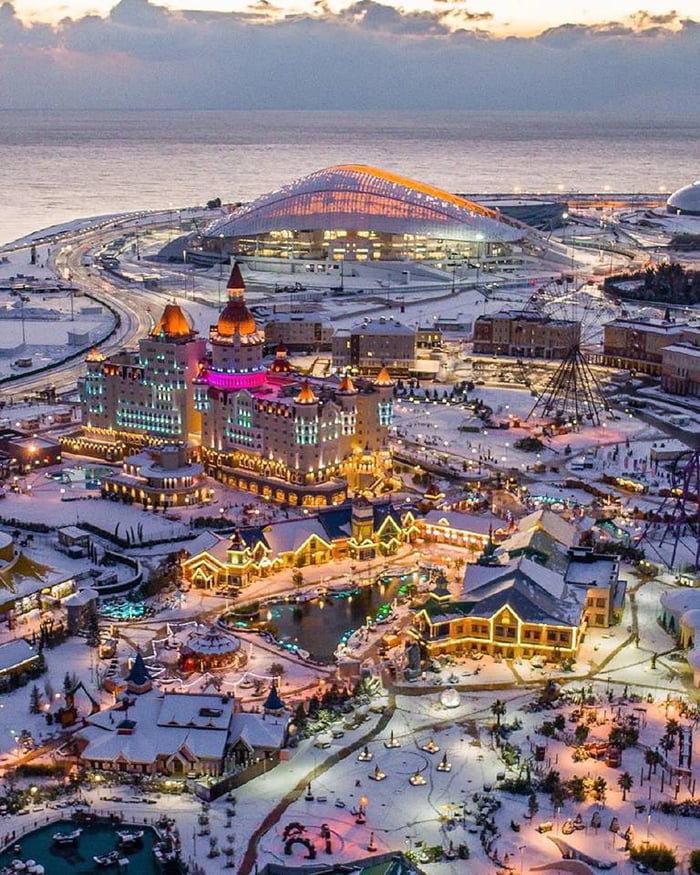 Курортный город Сочи