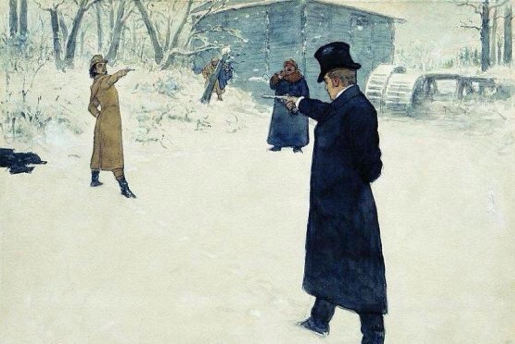 где находится могила пушкина