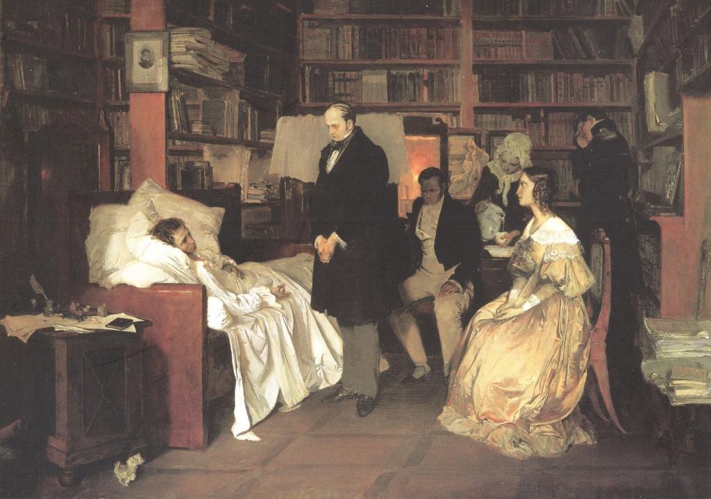 пушкин а с где похоронен
