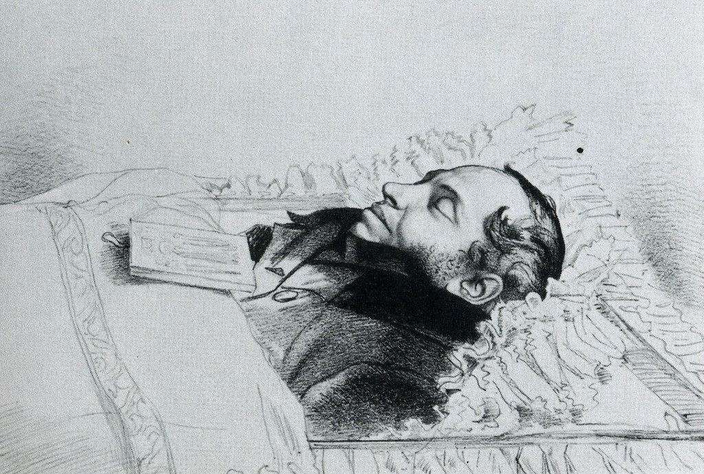 место захоронения пушкина