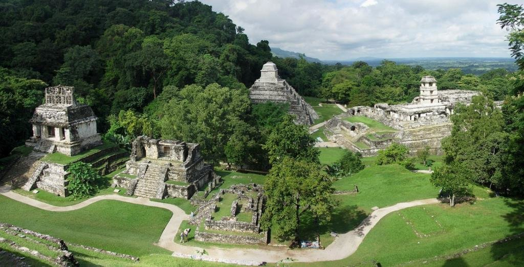 Поселение племени Майя