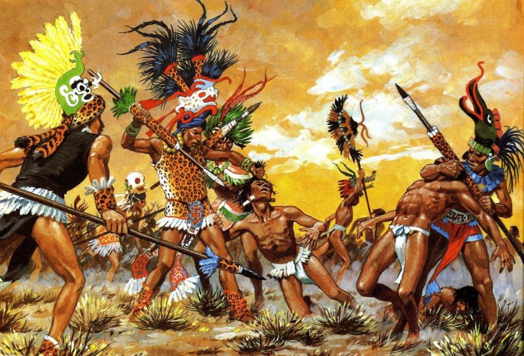 Сражения между племенами