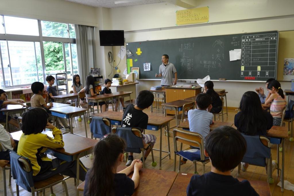 какой в японии учебный год