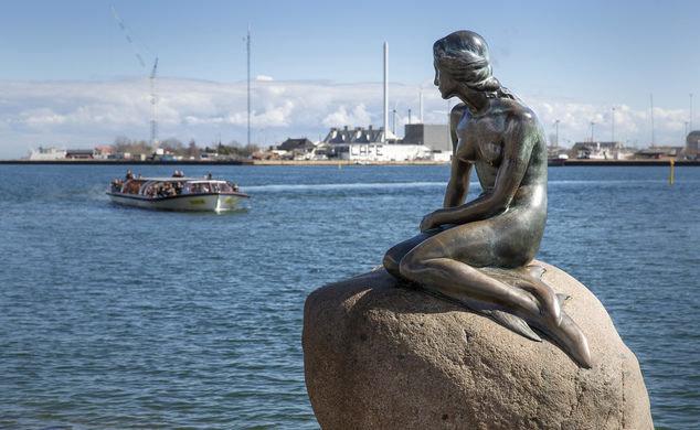 статуя Русалочки