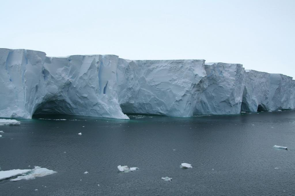 Шельфовый ледник Хэмильтон Глэйсер